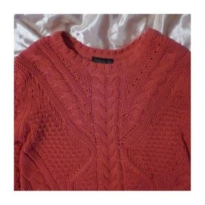 bright topshop sweater